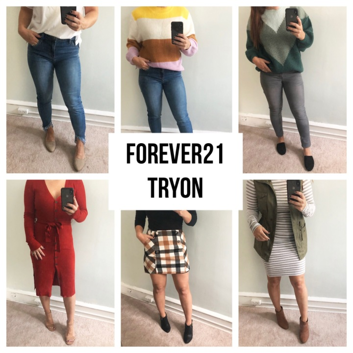Forever 21 Try On