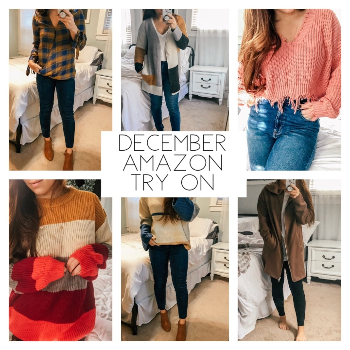 December Amazon Try On