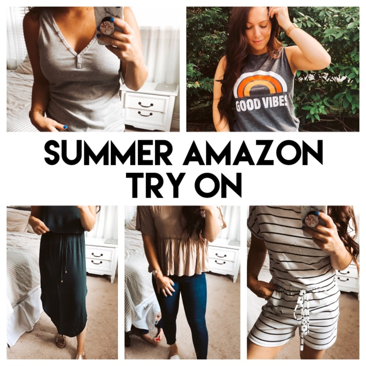 Summer Amazon Try On