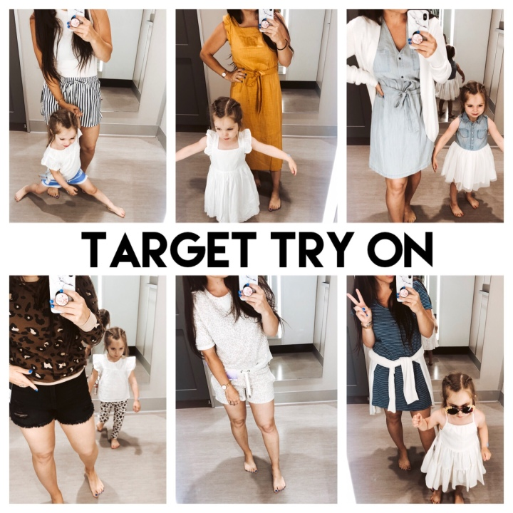 Target Try On with my Girl.