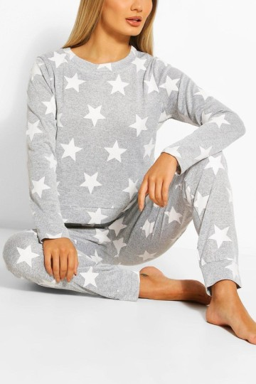 star-print-sweat-and-jogger-set
