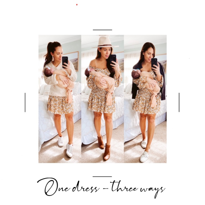 One Dress – Three Ways