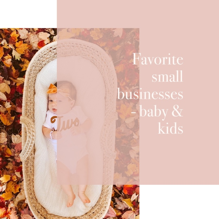Favorite Small Businesses for Babies and Kids